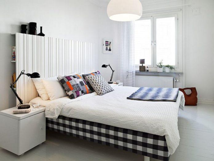 Stylowe dodatki do sypialni w kolorze czerni