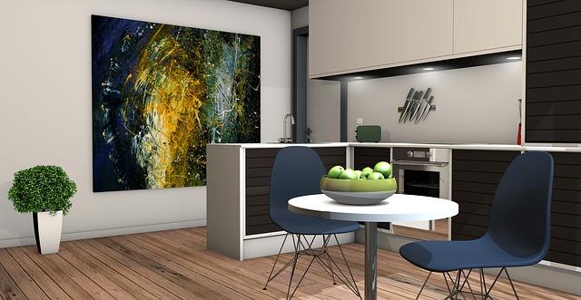 Ciekawe stylizacje kuchni – a może fototapeta na ścianę?